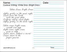 cursive writing worksheets images cursive