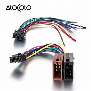 Car Stereo Radio Iso Standard Wiring Harness Connector