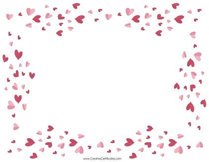 heart border templates add text andor images
