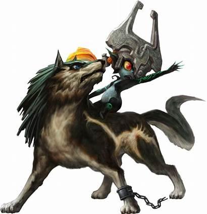 Wolf Midna Link Twilight Princess Loup Zelda