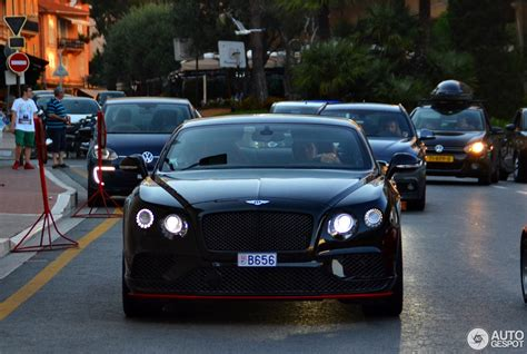 Bentley Continental Gt Speed Black Edition 2018 9 August