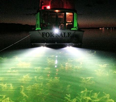 underwater led lights for boats led underwater boat lights the ultimate in lighting