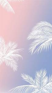 White palm trees, phone background | Tumblr Phone ...