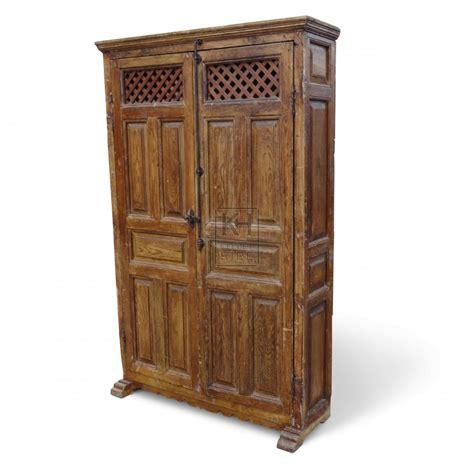 furniture prop hire large freestanding wooden cupboard