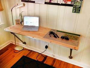 HomeOfficeDécoration Fixé au mur de bureau bricolage