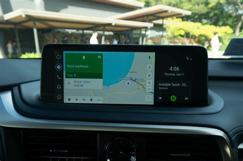 Lexus Android Auto 2020 check out the new widescreen android auto interface in the