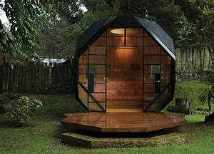 best cabane de jardin moderne ideas design trends 2017 With maison bois toit plat 18 le top des abris de jardin 45 idees design archzine fr