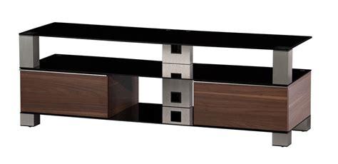meuble tv sonorous meuble tv sonorous md9140 b inx wnt verre noir noyer