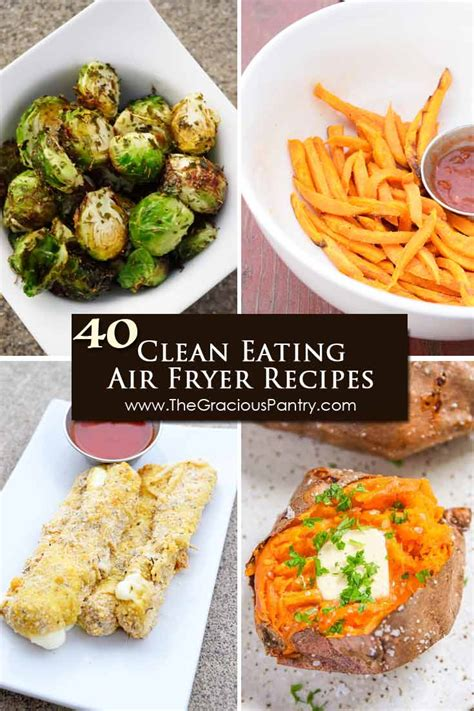 fryer air recipes clean eating healthy food airfryer baked recipe fried meals snacks snack meal sweet potato fries sticks thegraciouspantry