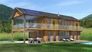 maison en bois ce qu39il faut savoir avant de construire With maison toit en verre 10 kits autoconstruction maison bois la maison bois par