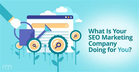marketing and seo firm what is your seo marketing company doing for you