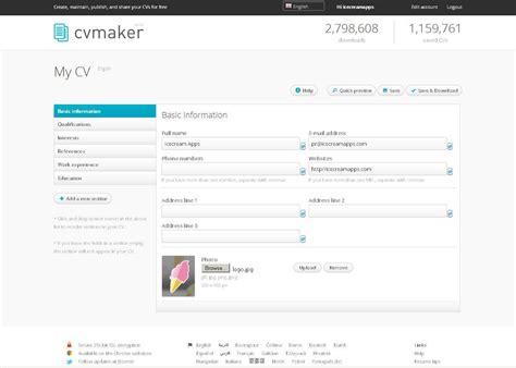 resume builder free resume format pdf