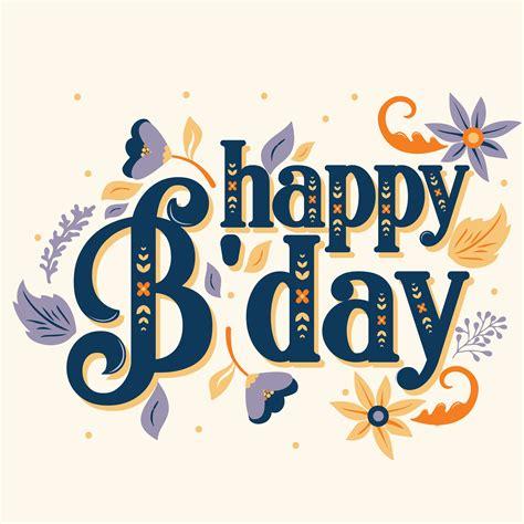 happy birthday vector design   vectors