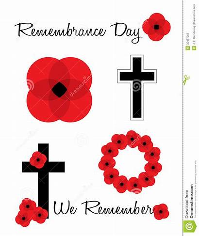 Remembrance Poppies Clipart Poppy Clip Royalty Vector