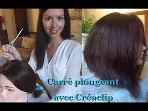 Comment Faire Un Carré Plongeant : comment je coupe mes cheveux doovi ~ Dallasstarsshop.com Idées de Décoration
