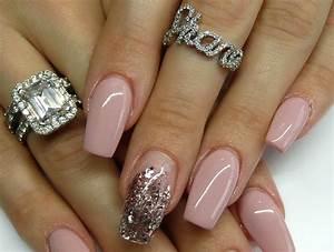 Ongles En Gel Rose : ongles en gel couleur rose ~ Melissatoandfro.com Idées de Décoration