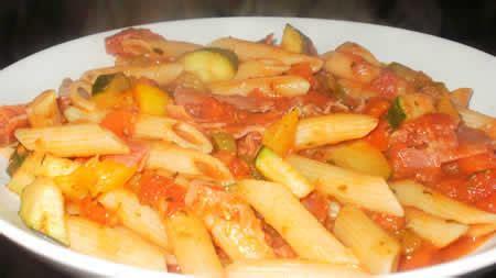 plats facile à cuisiner pate aux tomates jambon cookeo recette cookeo rapide