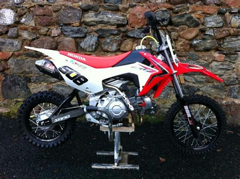 Nicely Modded Honda Crf Pitbike Pit Bikes