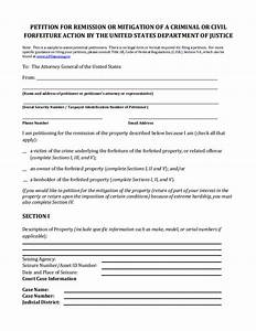 13 printable petition template examples templates assistant With forfeiture notice template