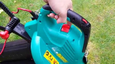 a lazy s bosch als 2500 corded vacuum leaf blower unboxing testing