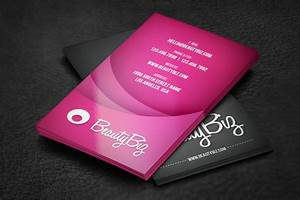 Beauty business card business card templates on creative for Beauty business card templates