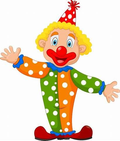 Clown Transparent Clipart Cartoon Clip Wig Animados