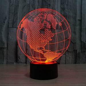 Globe d usb led night light colors changing christmas