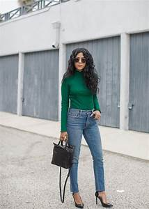 How to Wear Blue Jeans 50 Perfect Outfits | StyleCaster