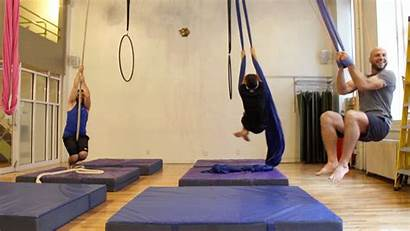 Aerial Class Today Circus Workout Sam Om