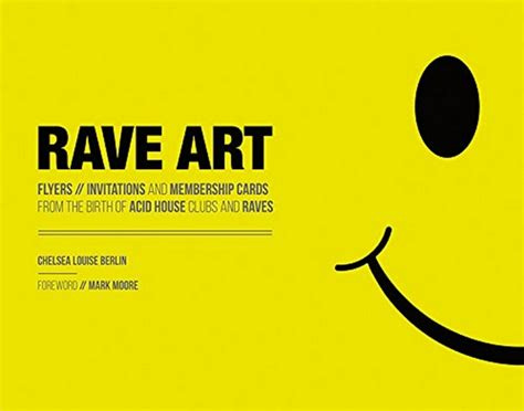 Forthcoming Rave Art Book To Collect Vintage Rave Flyers
