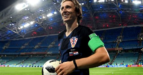 Luka Modric Wins The Ballon Beating Out Cristiano