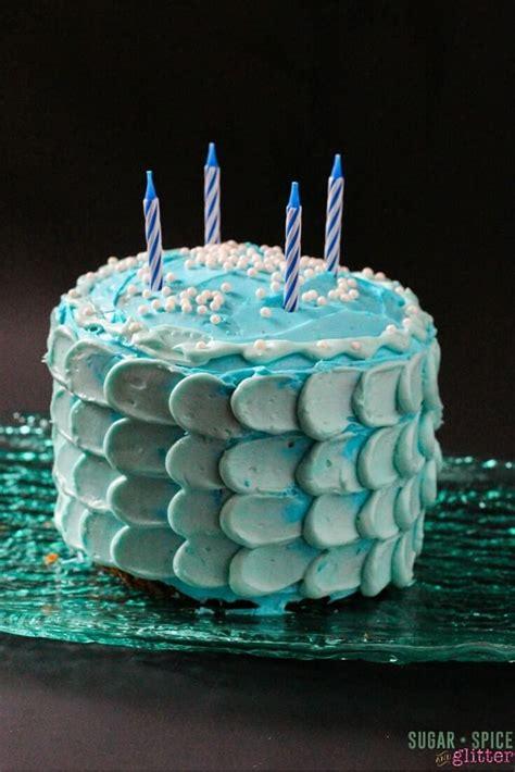 mermaid cake sugar spice  glitter