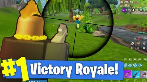 longest sniper shot   victory roblox fortnite