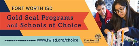gold seal programs schools choice home page