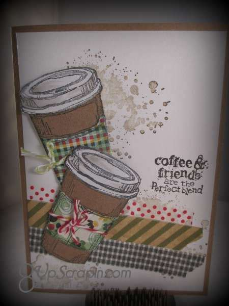 Pinterest Cards Stampin Up Coffee