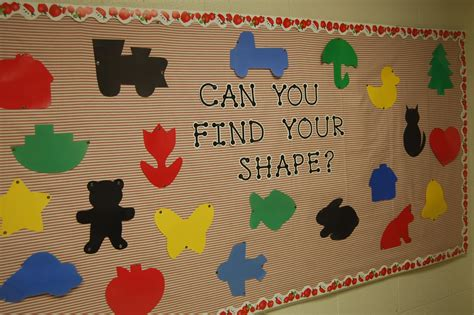 preschool bulletin boards shapes bulletin boards 793