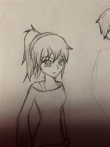 Anime girl with pony tail by Sly-FoxHound on DeviantArt