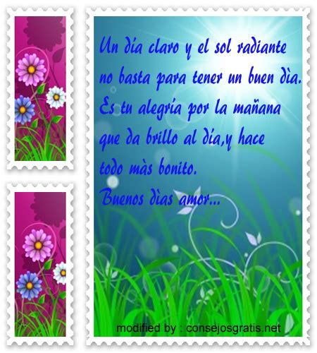 Tarjetas Con Frases De Buenos Dias Para Mi Novia 10 000