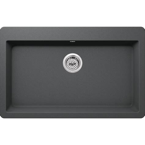 the kitchen sink company ipt sink company drop in granite composite 33 in 3 6070