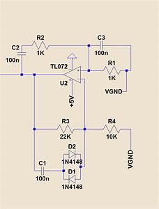 op amp - How to calculate the amplitude of a Wien Bridge ...