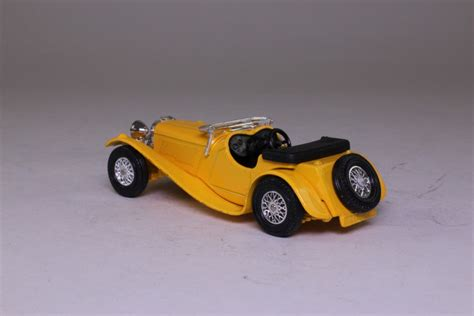 Models of Yesteryear Y-1/3; 1936 Jaguar SS100; Yellow ...