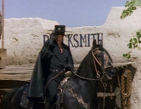 Zorro On His Horse Toronado