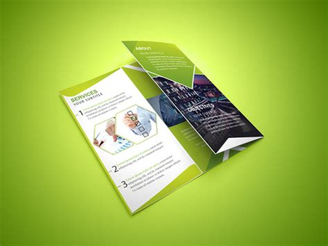 Trifold Template File by 21 Free Brochure Templates Psd Ai Eps Download