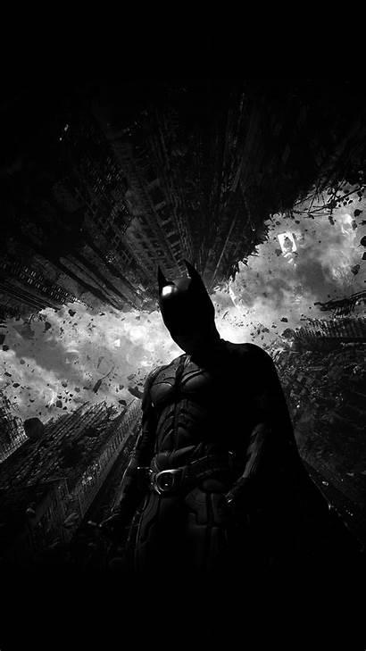 Iphone Batman Dark Wallpapers Hero Plus Bw