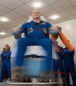 Scott Tingle Of Nasa Tests His Vestibular Skills