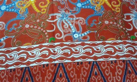 motif dayak tato baju adat batik wanita kebudayaan