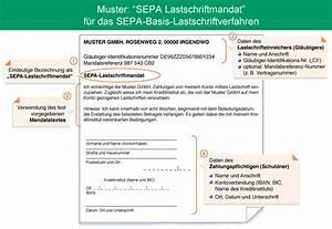 Lastschrift Rechnung : sepa informationen ~ Themetempest.com Abrechnung