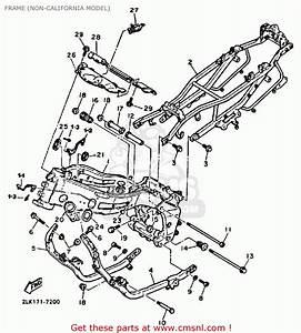Yamaha Fzr1000 1987 Genesis Usa Frame  Non