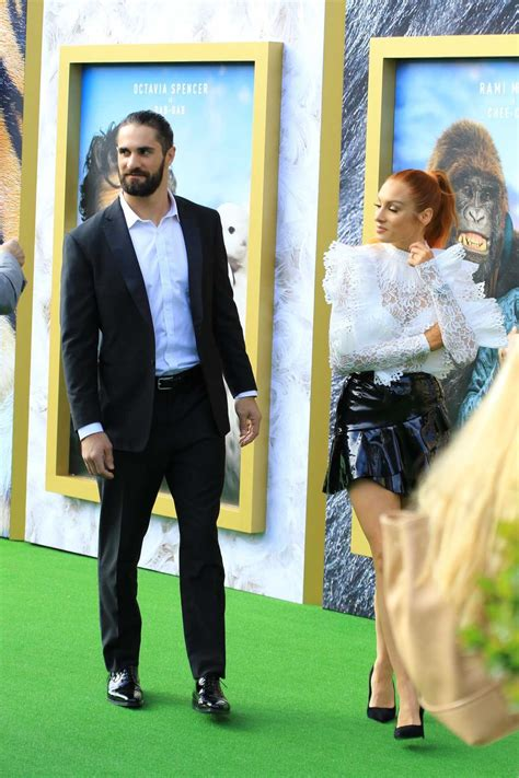 becky lynch attends universal pictures dolittle premiere