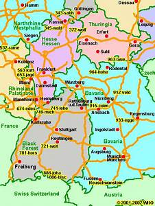 Augsburg München Entfernung : landkarte bayern deutschland entfernung n rnberg franken bayreuth m nchen mittelfranken autobahn ~ Markanthonyermac.com Haus und Dekorationen